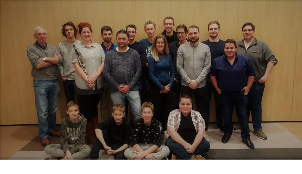 Foto: Slagwerkgroepen Harmonie Wilhelmina © MooiGestel