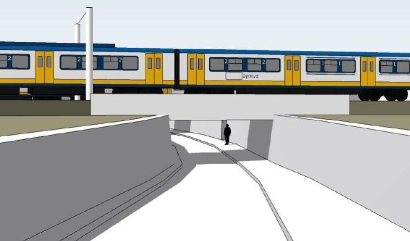 Laat de aanleg van de fietstunnel in het PHS-project langer op zich wachten door de uitspraak? Niemand die het op dit moment kan zeggen.     Fotonummer: a76d21