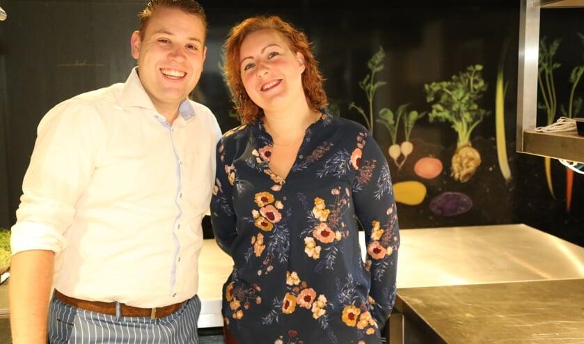 Martijn Coenen en Ayesta van Hoek, eigenaars van De Koetsier. (Foto: Sander van Kasteren)   | Fotonummer: 2b4ba2
