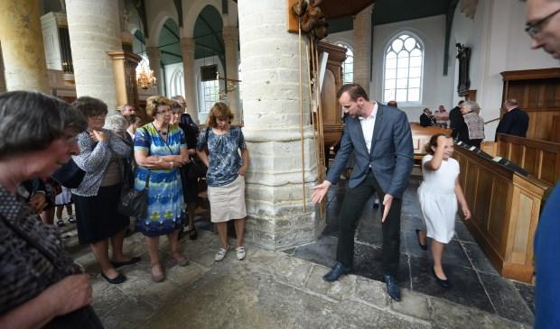 Enkele gemeenteleden vertellen over de kerk.