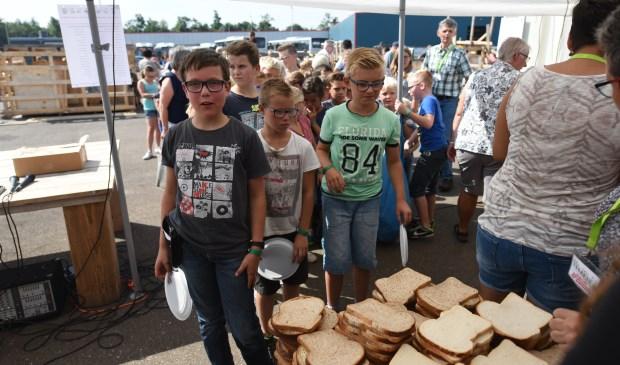 Adriaan Steenpoorte, Thomas Burgers en Niek Dorst zijn de eersten in de rij.