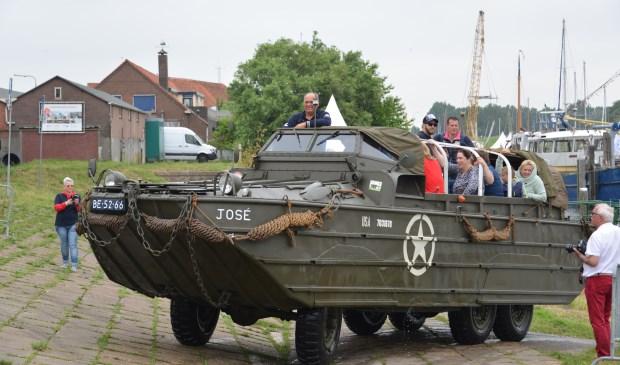 In juni van dit jaar was er bij de Havendagen al een Dukw-amfibie voertuig te bewonderen.