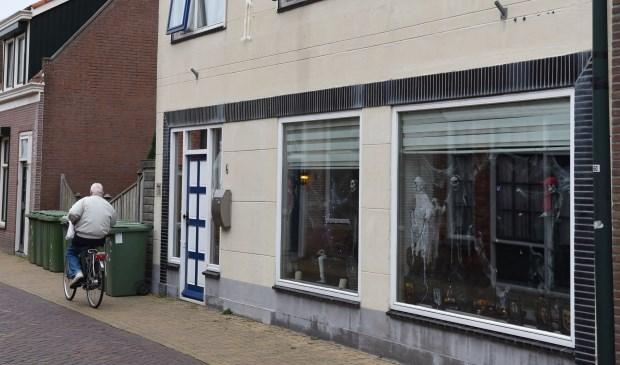 Een van de deelnemende huizen in Oud-Vossemeer.