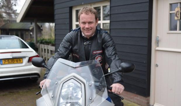 Eén van Griesdoorns hobby's is motorrijden. Hij heeft het gekoppeld aan een goed doel: Bikers Against Child Abuse.