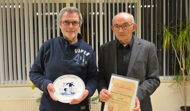 Piet van der Vlies (links) en Kees Hoek van Dijke.
