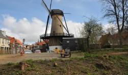 Het voormalige speeltuintje in de Bosstraat in Tholen. (archieffoto)