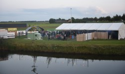 Vorig jaar was er al een hardcorefestivalletje op de ijsbaan in Sint-Annaland.