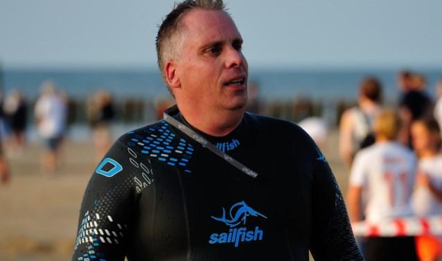 Zwemmen is voor Peter van der Zande vooral een hobby.