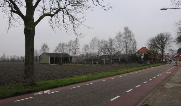 De nieuwe kerk moet aan de rand van het dorp, de Molenweg, verrijzen.
