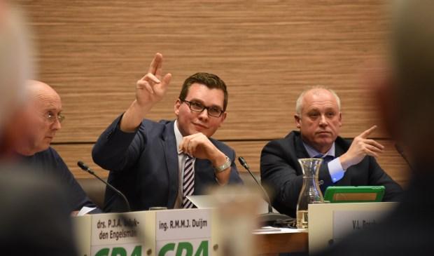Vincent Bosch in de Thoolse gemeenteraad.