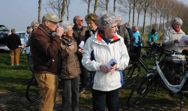 Rustpunt op de hoek Molendijk/Zoetendijk bij Oud-Vossemeer.