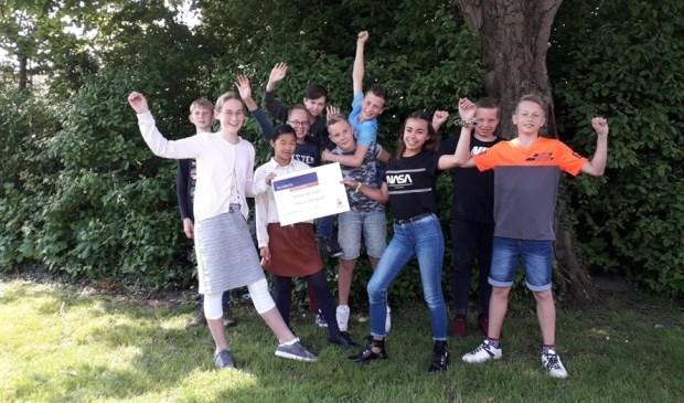 De winnaars uit groep 8.