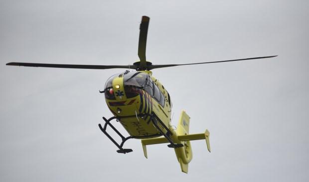 Een traumahelikopter op archiefbeeld.