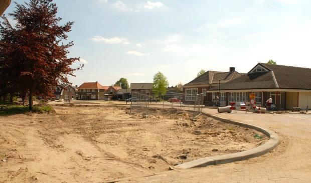 Beckart plein in aanbouw.                   | Fotonummer: 7fcff5