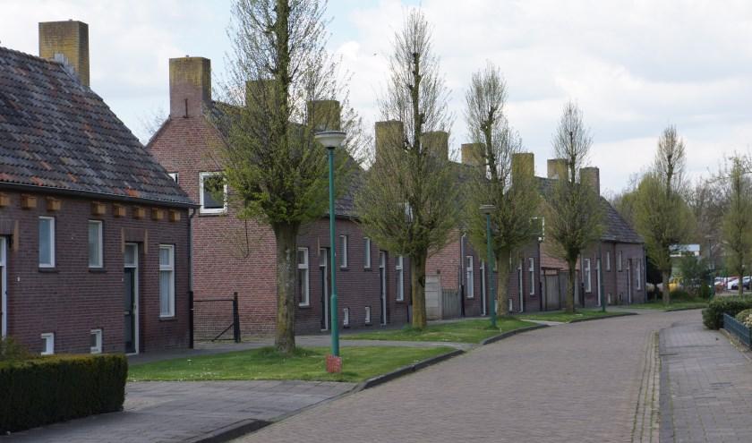 Deze woningen aan de Mater Lemmensstraat maken allemaal plaats voor de appartementen.   | Fotonummer: a378ea