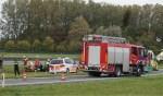 Ongeluk op de A50