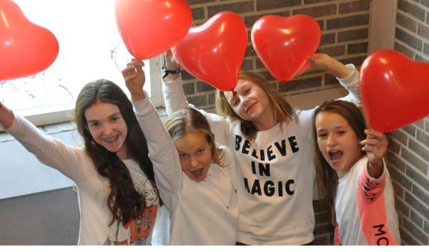 Love Challenge door tweedejaars vmbo-leerlingen  | Fotonummer: d10065