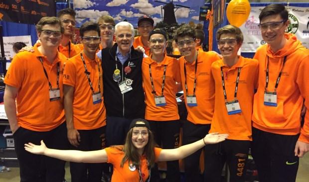 Rooise studenten met roboticateam in kwartfinale USA