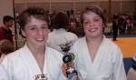 Rooise judoka's pakken weer prijzen