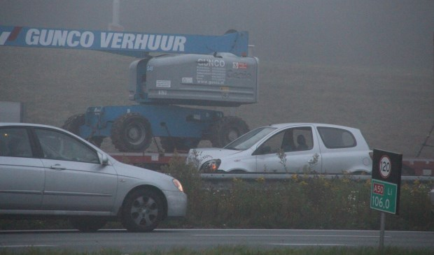 Op de A50 gebeuren veel ongelukken  | Fotonummer: 559529