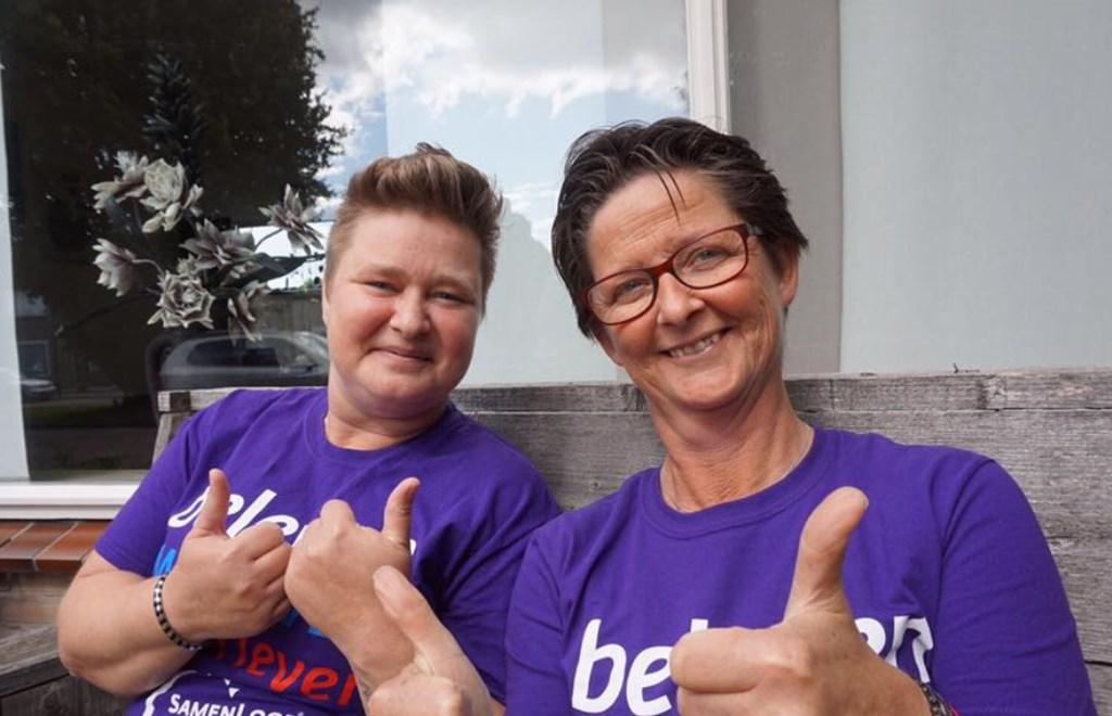 Irda Habraken (links) en Marion van de Ven (rechts)  | Fotonummer: 1c066b