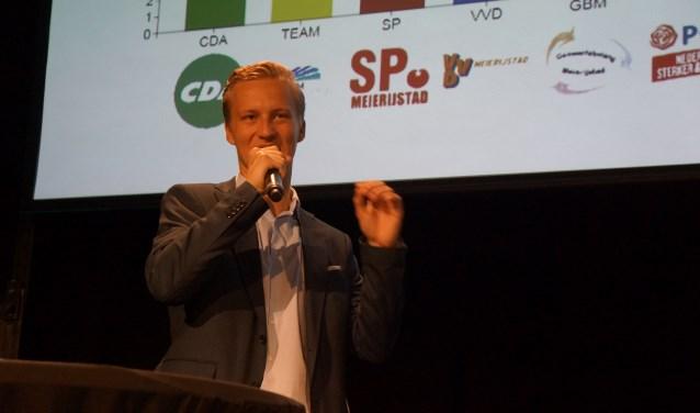 Thijs van Zutphen blijft als 'frontman' in de raad voor Lijst Blanco.   | Fotonummer: 8f7ed3