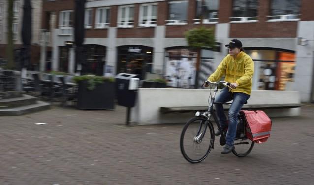 Iedere bezorger krijgt van ons een nieuwe fietstas.   | Fotonummer: 41422f