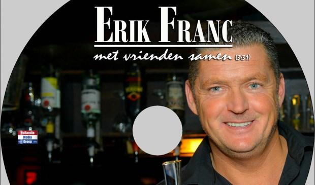 Erik Franc, afgebeeld op zijn eigen cd.  | Fotonummer: f7ada4