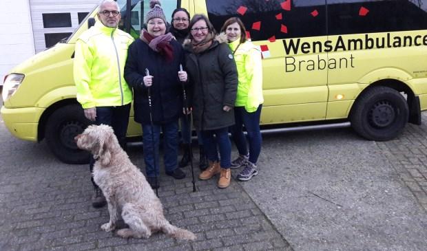 Met dit gezelschap werd de trip naar Texel gehouden.    Fotonummer: d55e10