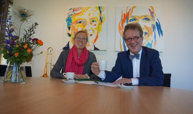 Jan van de Meulengraaf en Karolina Meems.  | Fotonummer: 28597f