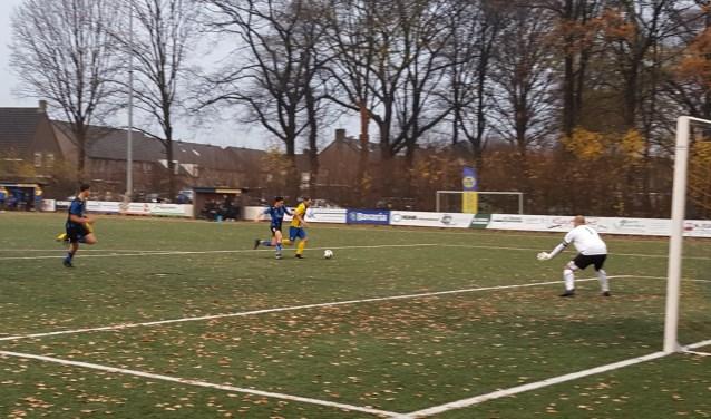 Stefan Hulsen tijdens de wedstrijd van afgelopen zondag.   | Fotonummer: 0b9908