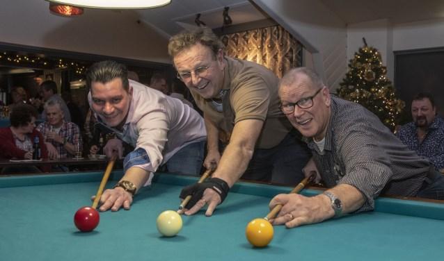 v.l.n.r.: Michael Toelen, Cees Bouter en Jan de Jong.     Fotonummer: 41f983