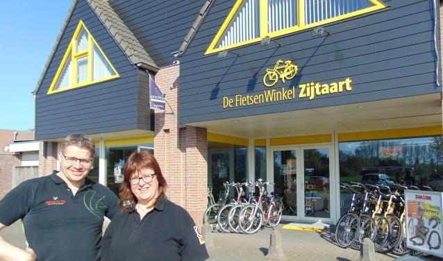 Service staat voorop bij Peter en Mirjan van De FietsenWinkel Zijtaart.   | Fotonummer: be680d