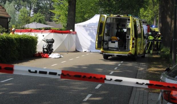 Het ongeluk gebeurde op de Molendijk.  | Fotonummer: e527da