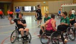 Interland rolstoelhandbal in Schijndel