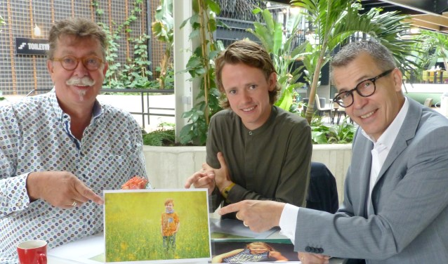 v.l.n.r.: Bas van Turnhout, Ties van Dooren en Harry Vermeulen.   | Fotonummer: c8520d