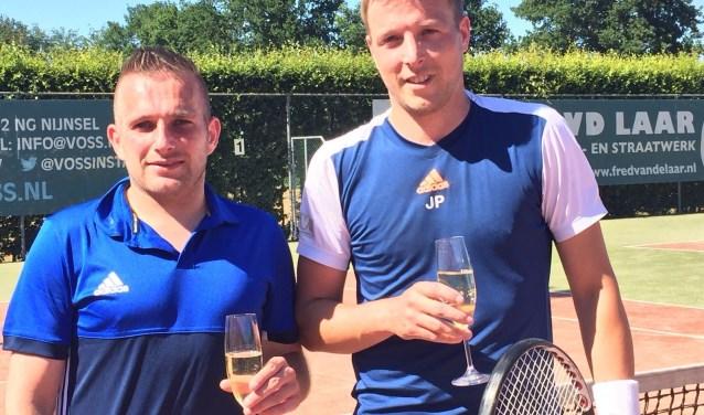Paul van der Rijt (l) en Johan van der Pas.  | Fotonummer: 6a6c26