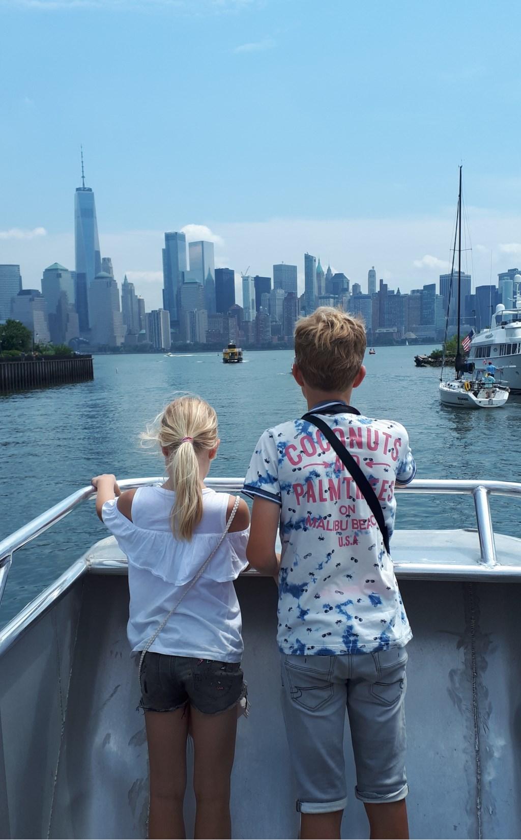 Mooi uitzicht op de skyline van New York. Jort en Marit Keeren  © MooiRooi