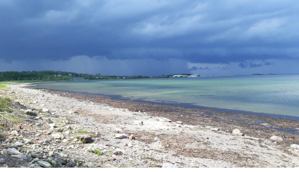 Een mooi weersverschijnsel in Canada. Foto: Mara van Genugten. Foto: Mara van Genugten © MooiRooi