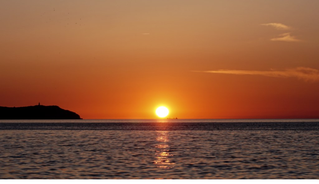 Een prachtige zonsondergang. Foto: Marianna van der Velden Foto: Marianna van der Velden © MooiRooi
