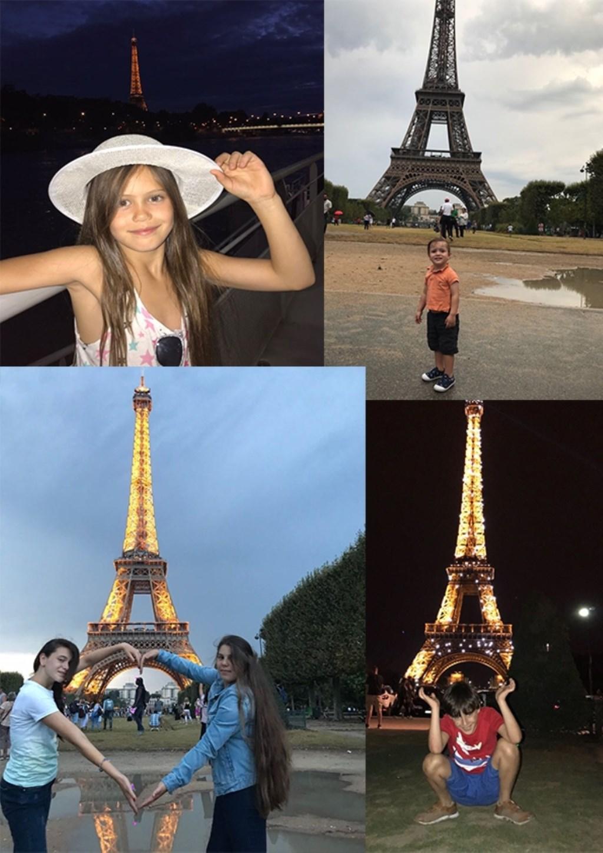 Dit Syrisch Roois gezin maakte een uitstapje naar Parijs.  © MooiRooi