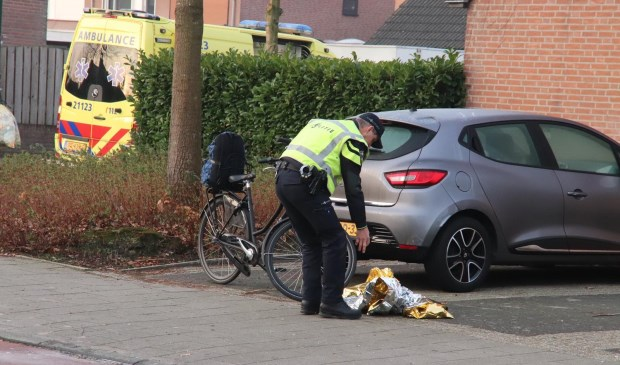 Politie en ambulance waren paraat.    Fotonummer: d62859