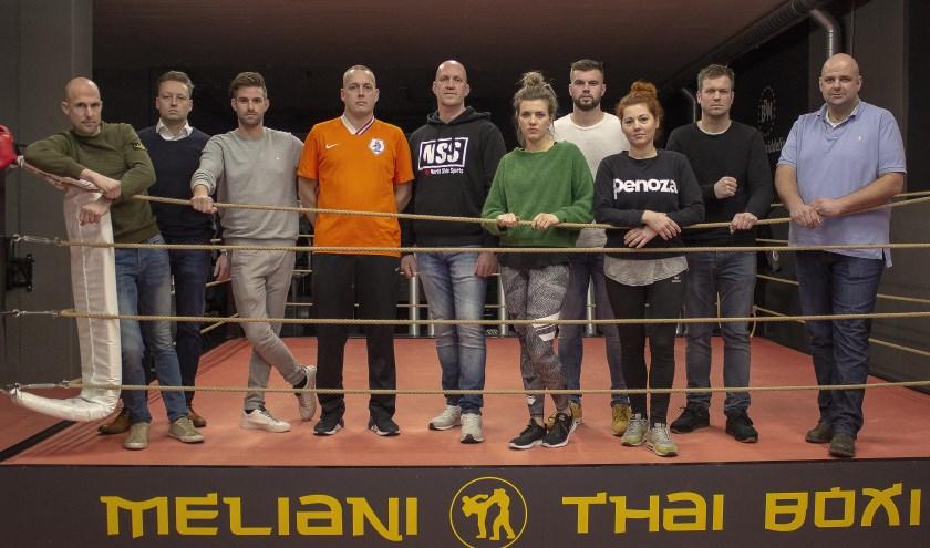 De boksers van deze editie.   | Fotonummer: 6c6882