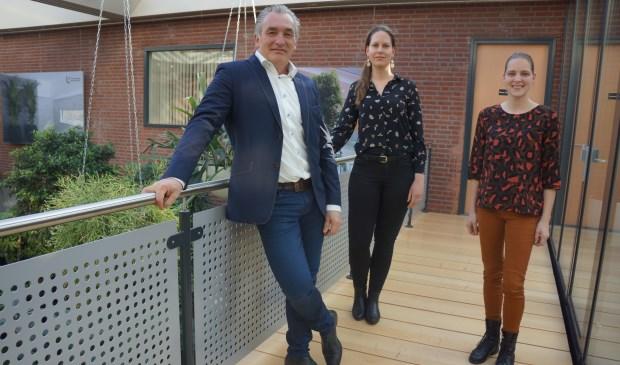 Henk Gloudemans, Bo Smorenburg en Lieke van der Schoot.  | Fotonummer: b7da3c