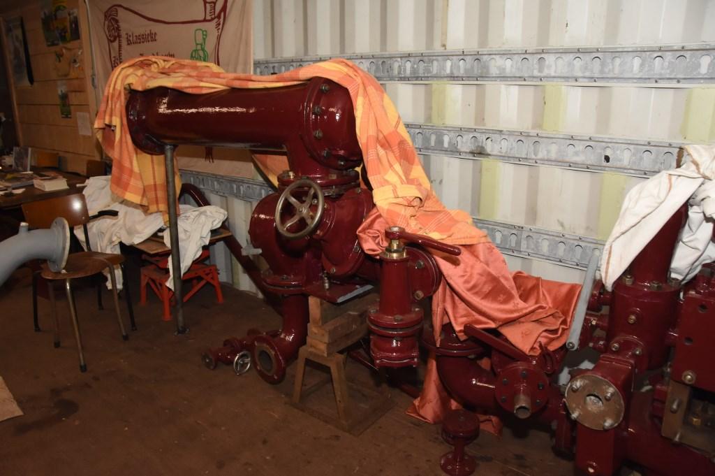 De Rollé stoommachine van Hoeve Strobol. Foto: Hans van den Wijngaard © MooiRooi