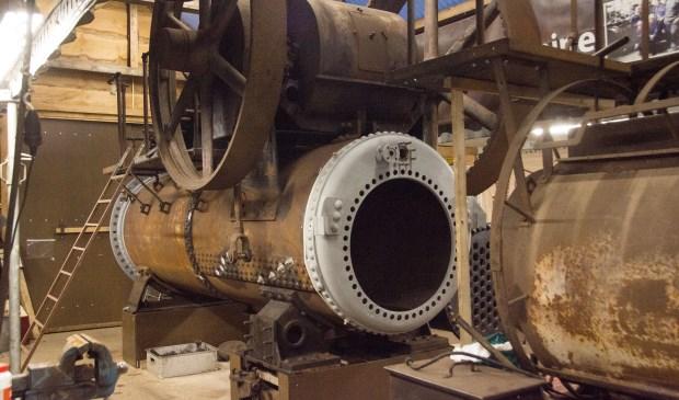De Rollé stoommachine van Hoeve Strobol.   | Fotonummer: 558678