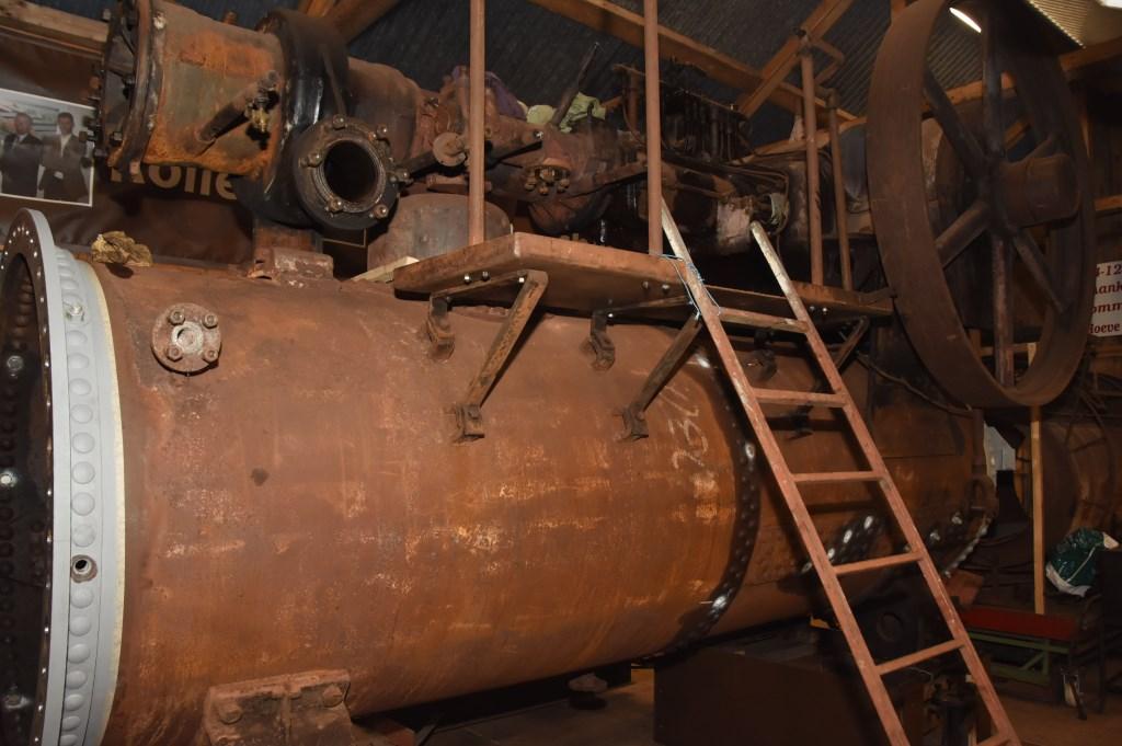 De Rollé stoommachine van Hoeve Strobol.De Rollé stoommachine van Hoeve Strobol. Foto: Hans van den Wijngaard © MooiRooi