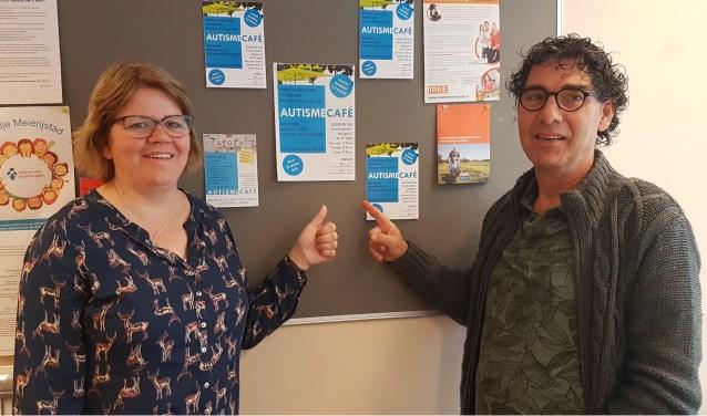 Herman Vissers (consulent bij Stichting MEE) en Dorien van Rooij (ervaringsdeskundige)   | Fotonummer: 0d612a