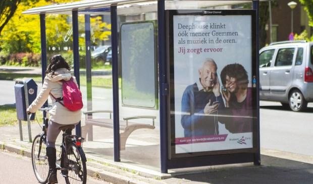 De campagnes zijn in het straatbeeld te zien.   | Fotonummer: 471d85