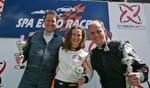 Charlotte Verkuijlen wint van de mannen op Spa- Francorchamps